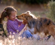 child-and-dog
